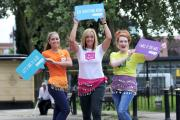 Hollyoaks star Nikki Sanderson, retired England netball player Tracey Neville and Coronation Street actress Jennie McAlpine, who are all I Will If You Will ambassadors