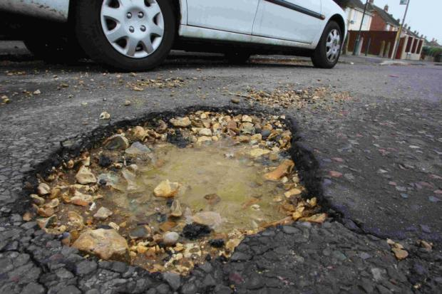 £70,741 has been spent on pothole repairs