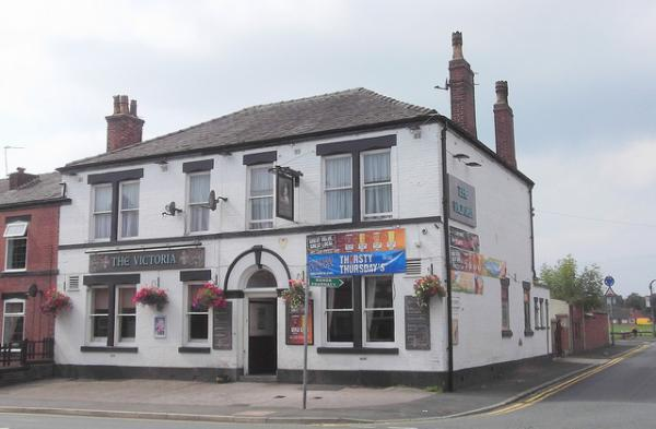 The Victoria Hotel in Radcliffe