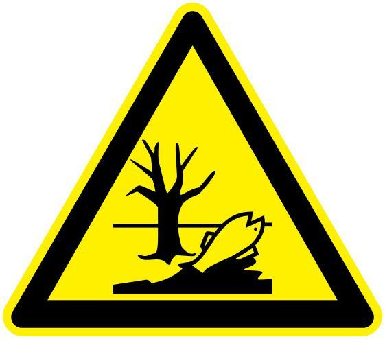Environmental hazard warning. Picture from WPClipart.com.