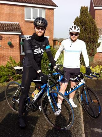 MOTIVATED SIBLINGS Brothers Rowan and David to compete in Ironman contest