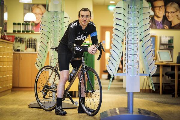 Lab technician will take on 60-mile bike challenge