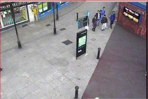 Teenagers threatened during street robbery