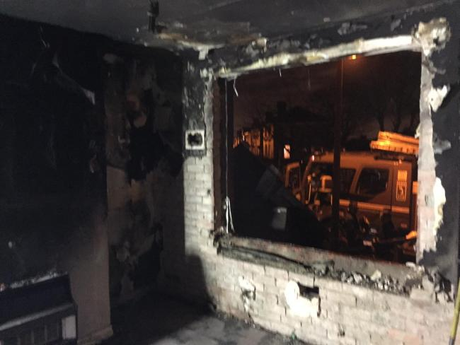 Family Of Three Forced To Flee House Fire After Christmas Tree