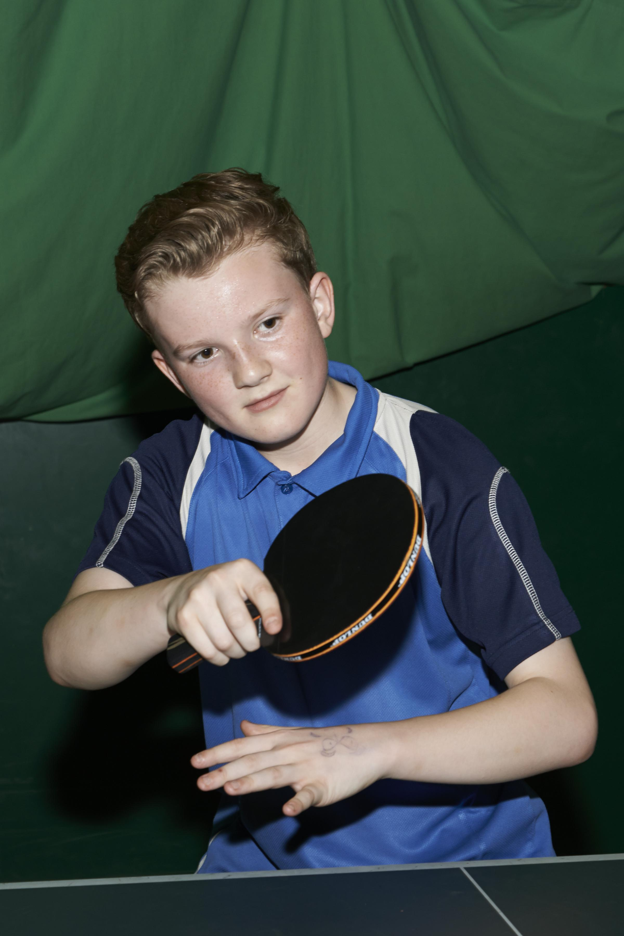 TABLE TENNIS: Rising star Kenzitt ends Ellis' unbeaten record
