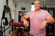 BUSINESSMAN: Alan Lord at his gym in Radcliffe