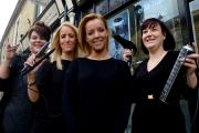 NOMINEES: (L-R) Maria Monetti, Hayley Bromley, Emily Hobson, and Andrea Murgatroyd of Elite Hair