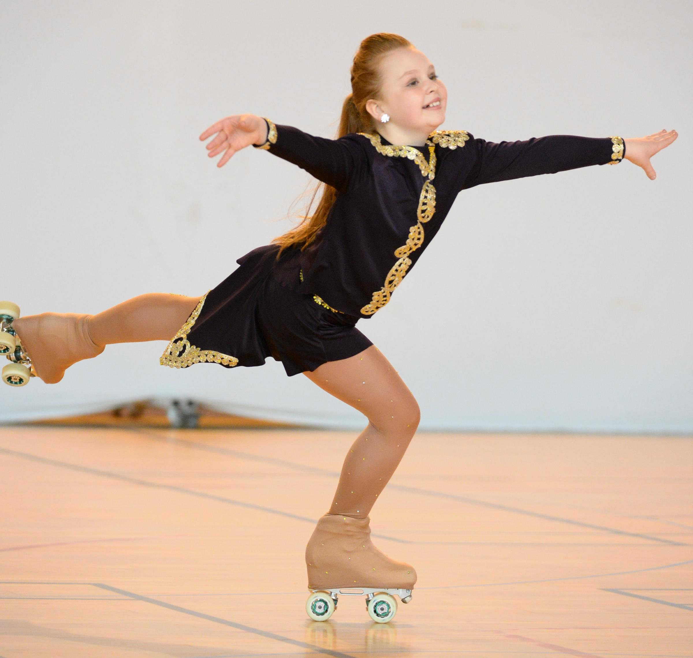 Roller skating vaughan - Roller Skating Emma Thiele On A Roll Ahead Of This Weekend S Championships From Bury Times