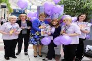 Bury Hospice launch the Sponsor a Nurse Campaign at the Mill Gate centre. (L-R): Margaret MacArthur, Joyce Yeo, Jacqui Comber, Pam Byrom, Michelle King, Nicola Ainsworth.