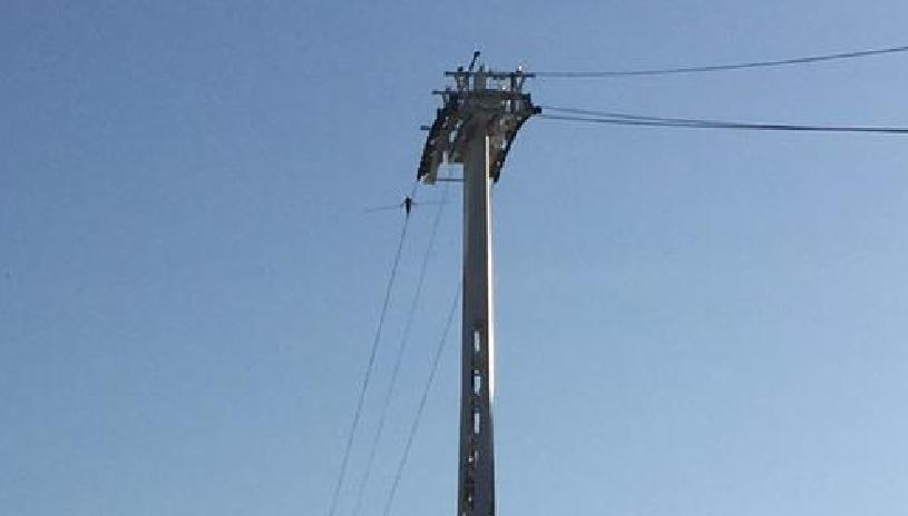 UPDATE: Nine arrests after cable car halted by Greenpeace \'high-wire ...