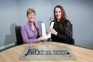 Bury Black Pudding Company's finance director wins coveted award