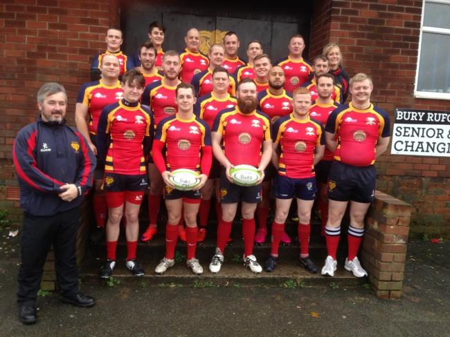 Bury RUFC's first-team squad