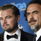 Bury Times: Leonardo DiCaprio turns up to watch Alejandro Inarritu win big at the Directors Guild Awards for The Revenant