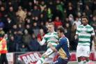 Celtic's Leigh Griffiths opened the scoring in his side's 2-0 win over East Kilbride