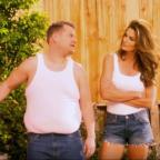 Bury Times: Video: Cindy Crawford and James Corden have hilariously remade a famous advert