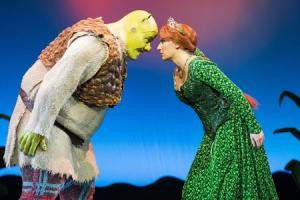 It's not easy being green says star of Shrek the Musical