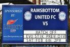 Ramsbottom United's first match at home since the ground was flooded on Boxing Day was called off due to a waterlogged pitch