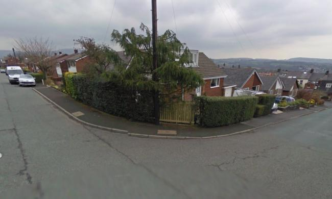 CRIME: Carrwood Hey on the left and Hill Rise on the right