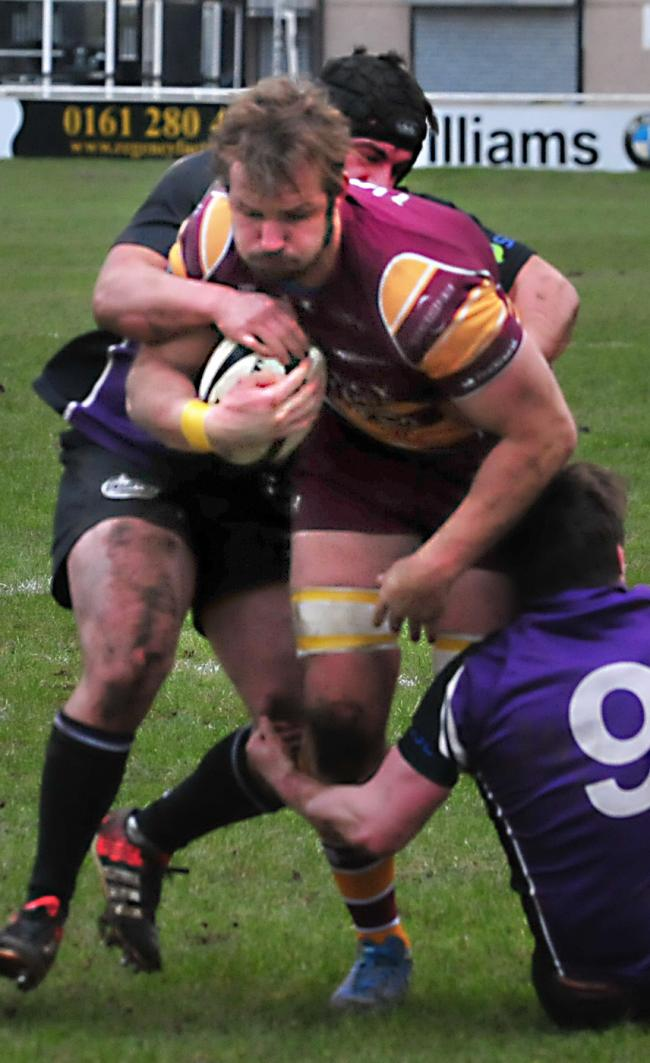 Sedgley Tigers captain Juan Crous was injured in the warm-up before Saturday's crushing win against Preston Grasshoppers