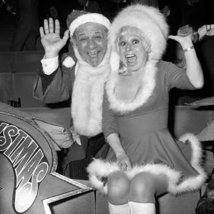 Bury Times: Carry On legends Sid James and Dame Barbara Windsor
