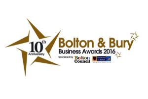 Bolton and Bury Business Awards 2016 Logo.