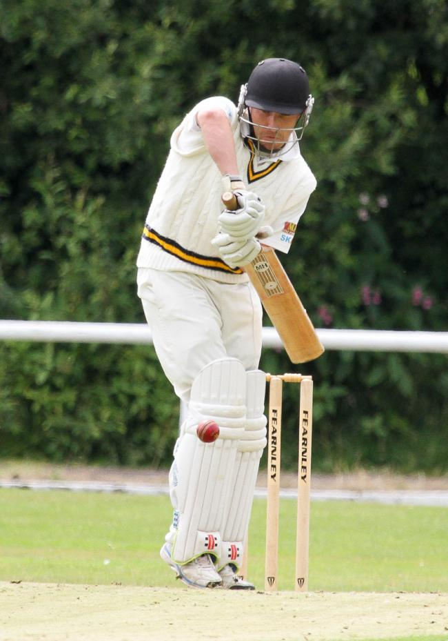 FLYIN' RYAN: Ryan Senior scored a magnificent 90 off 55 balls in Greenmount's victory