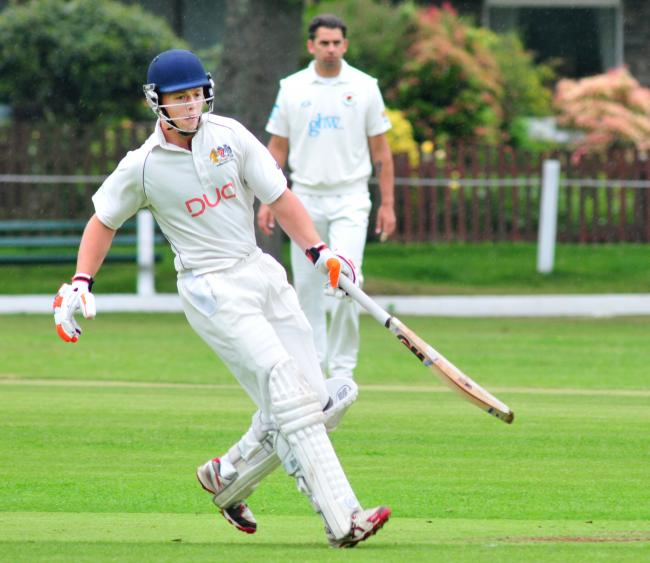 GRAND SEASON: James Wharmby is in sensational form with the bat for Prestwich this season