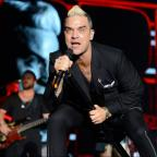 Bury Times: Robbie Williams's Glastonbury throwback photo will take you straight back to the 90s