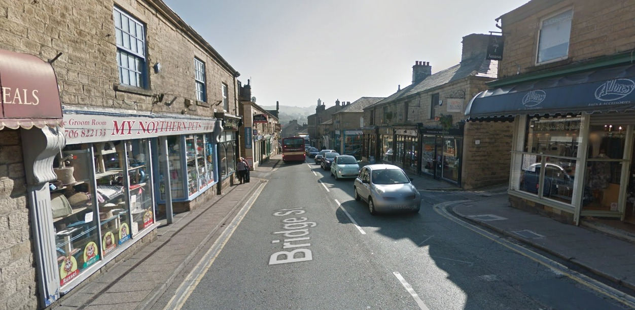 Bridge Street in Ramsbottom. Picture courtesy of Google Street View