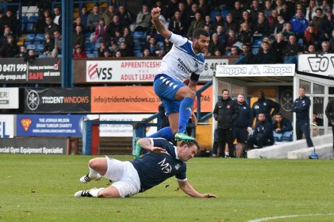 MAD MELL: Jacob Mellis was sent off for a rash challenge late in the first half at Sheffield United