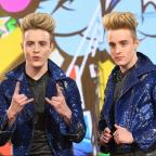 Bury Times: Jedward offer flawless logic for why the CBB toilet is a mess...then get back to eating a strawberry