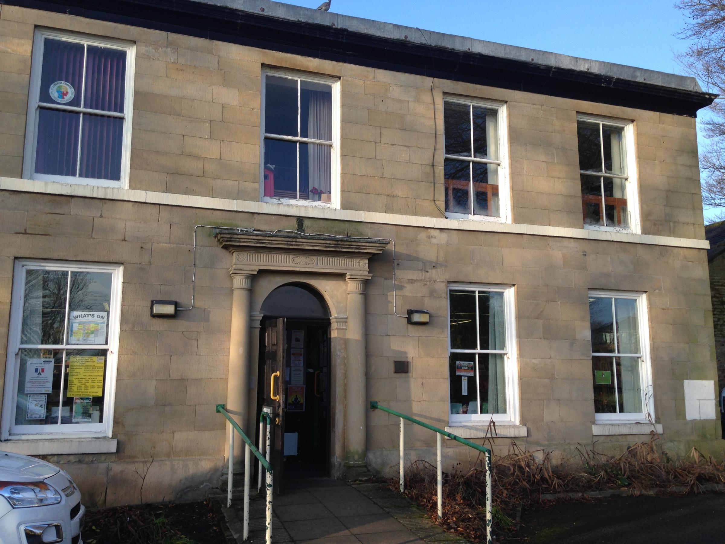 SHUTTING: Tottington Library, one of the buildings due to close