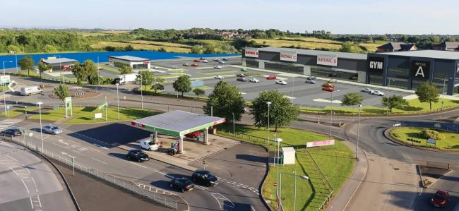 A gym and KFC and Costa drive-through restaurants could transform the vacant Park 66 site if plans get the green light