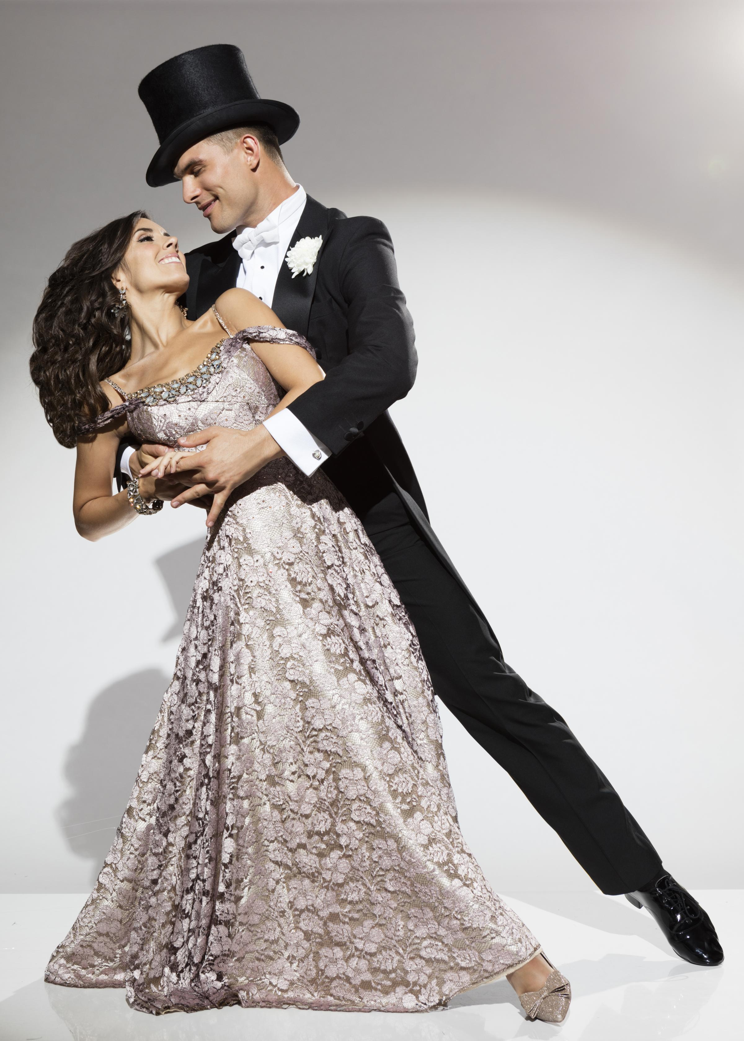 Janette Manrara and Aljaz Skorjanec in Remembering Fred (Picture: Colin Thomas)