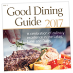 Bury Times: Good Dining Guide Cover 2017
