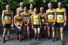 Radcliffe runners at Holcombe 2 Towers event