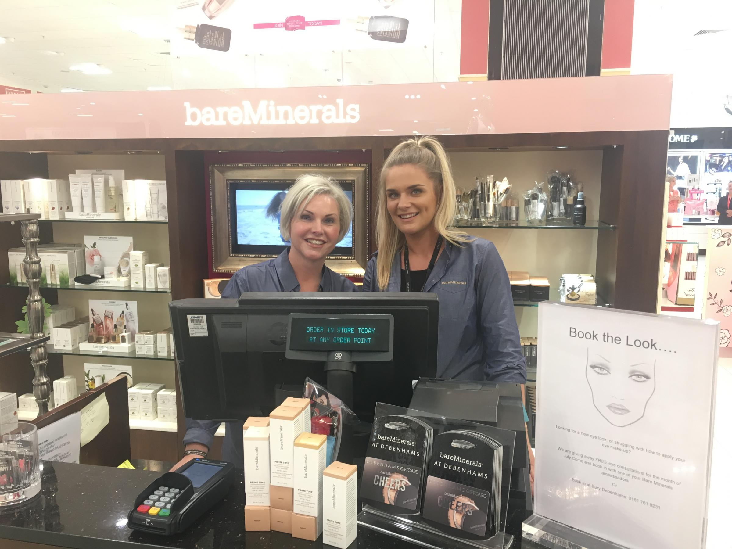 We try out the Bare Minerals 'make-under' look in Bury