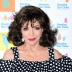 Bury Times: Actress Joan Collins comments on BBC pay gap dispute