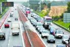 Motorists facing delays after lanes  shut after motorway smash