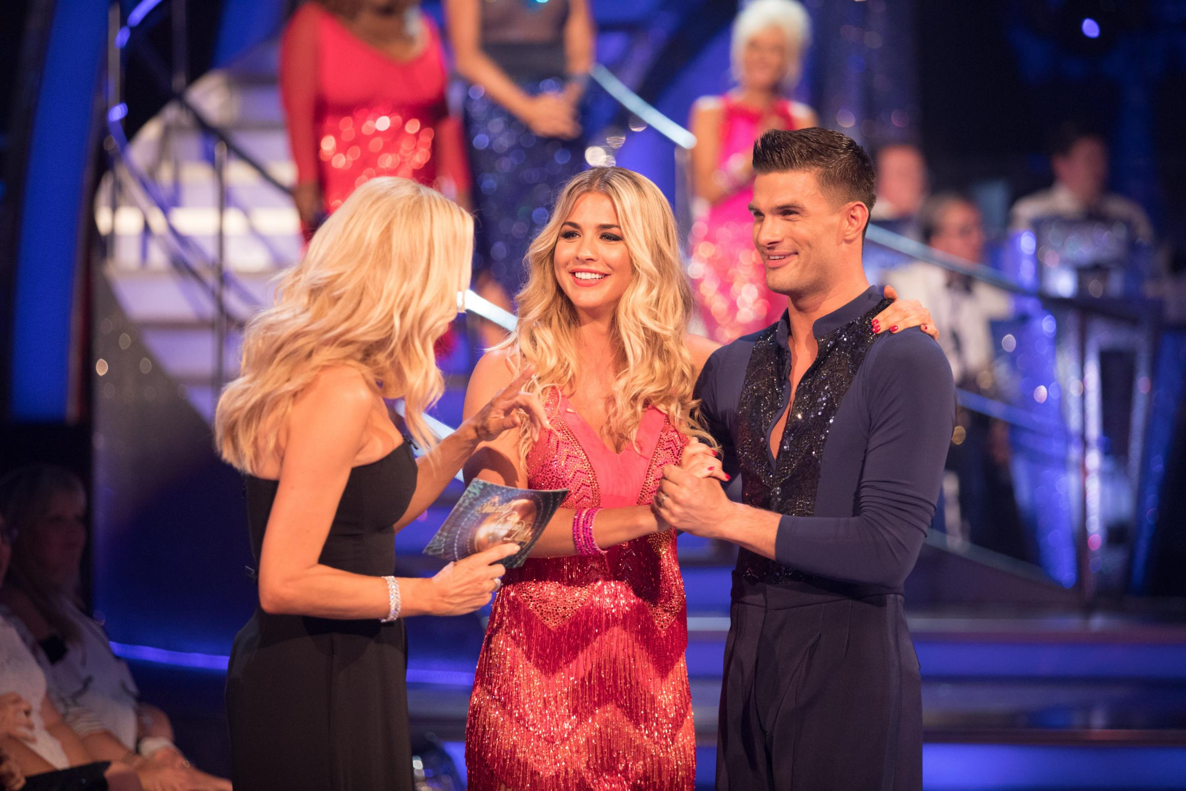 Who is aljaz from strictly come dancing dating service