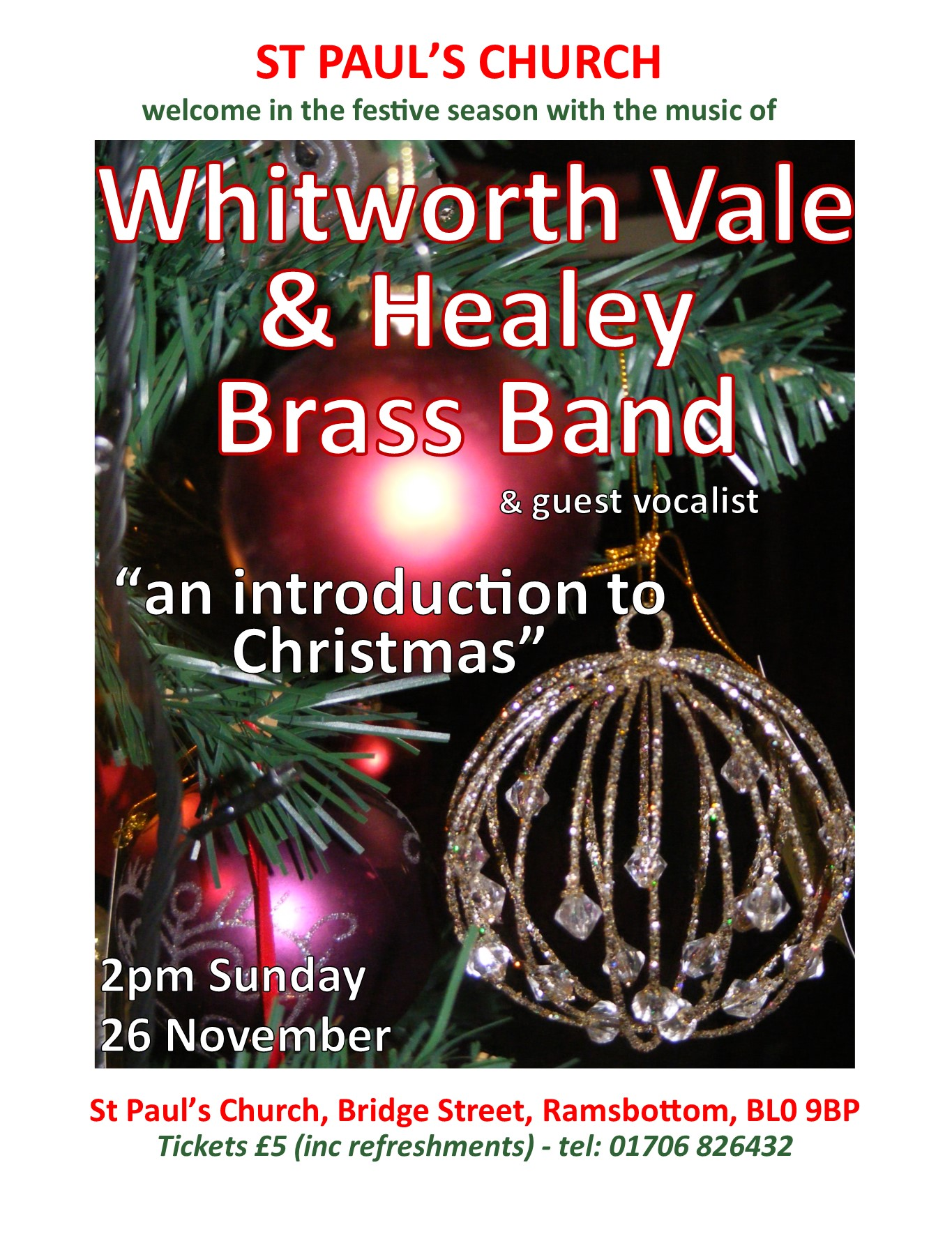 Whitworth Vale & Healey Brass Band