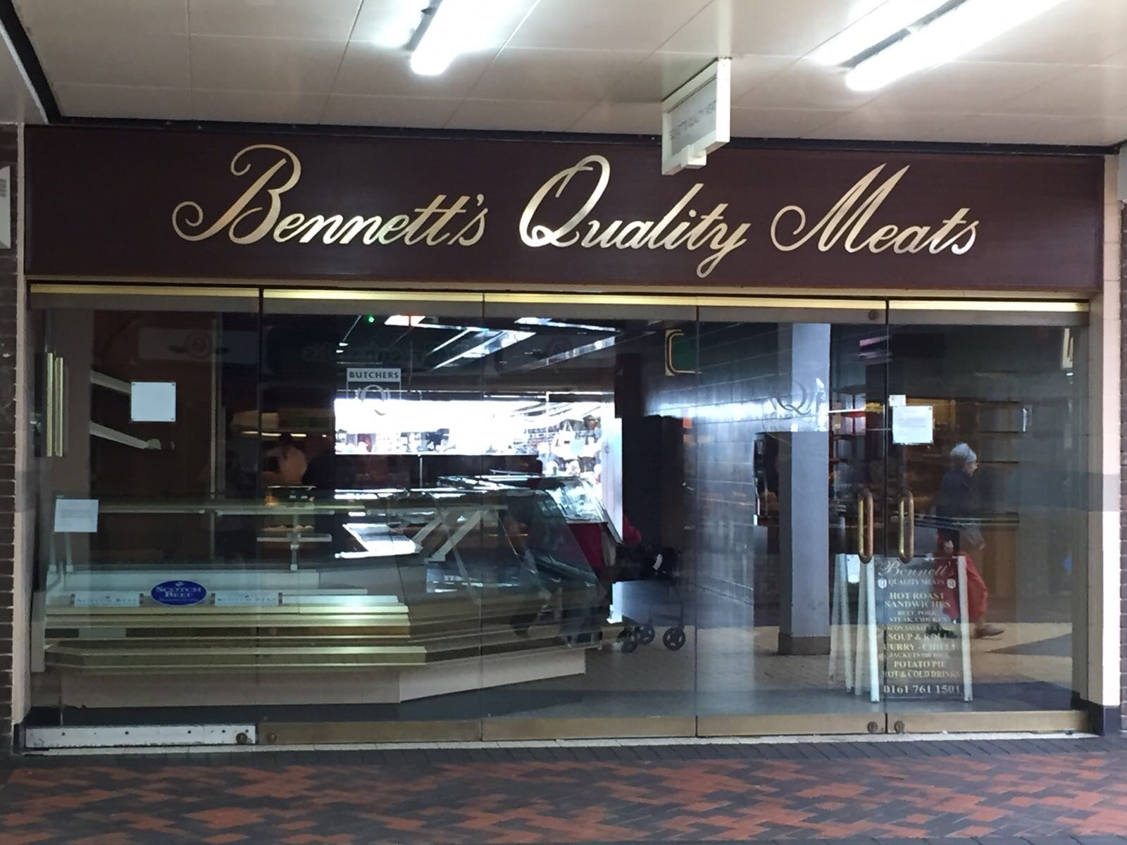 Bennett's Quality Meats in Princess Parade, Bury