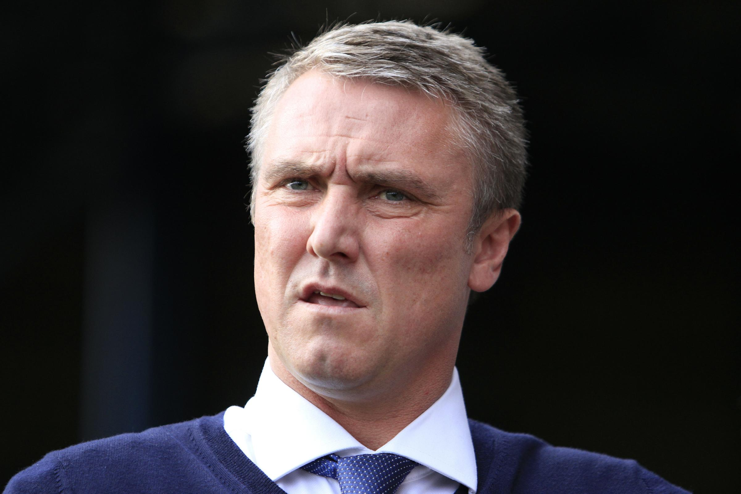 NON-LEAGUE TEST: Bury manager Lee Clark