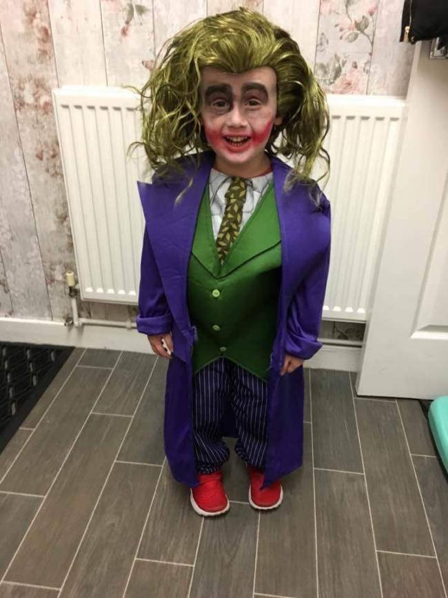 Joseph Taylor from Darcy Lever asThe Joker