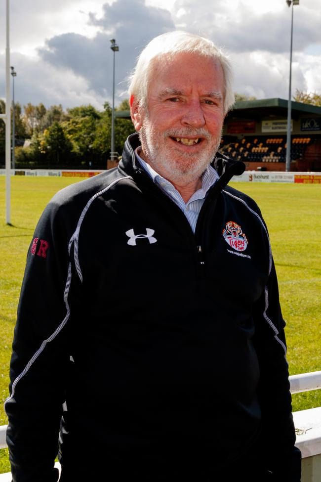 Team Manager Geoff Roberts of Sedgley Park Rugby Union.