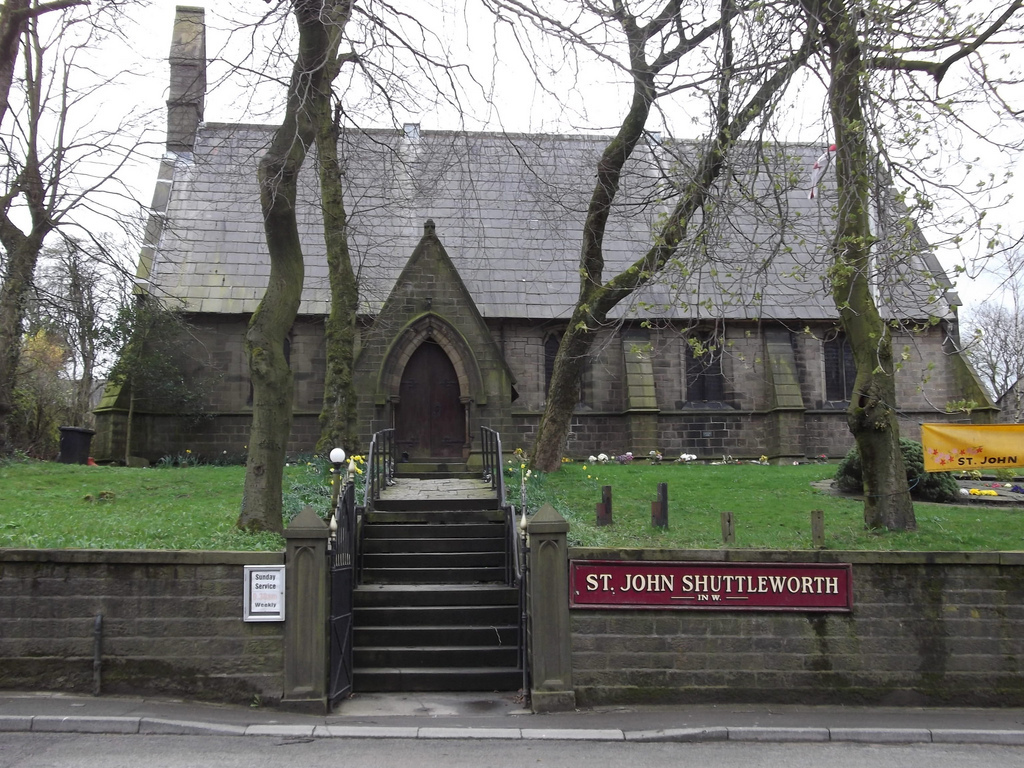 St John in the Wilderness in Whalley Road, Shuttleworth