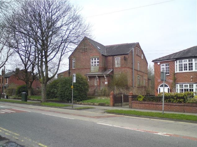 PLANS: The existing building in Bury Road, Radcliffe