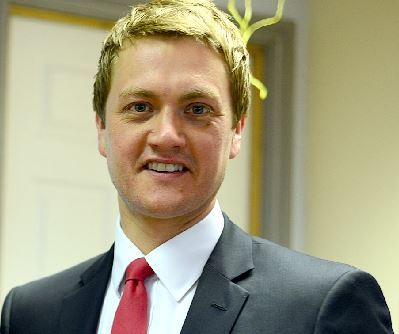 APPOINTMENT: James Frith MP
