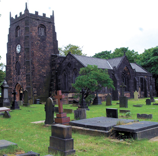 Radcliffe Parish Church is to have a new roof
