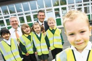 More safety vests for Greenhill Primary